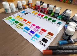 Pebeo Vitrea 160 Color Chart 59 Punctual Pebeo Glass Paint Color Chart