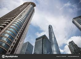 big view photography. Skyscrapers Big Modern City Architecture Perspective View Shanghai China September \u2014 Stock Photo Photography B
