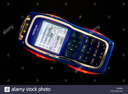 Vintage Nokia 3220 phone in studio ...