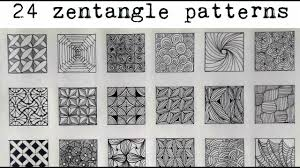 Official Zentangle Patterns Amazing Inspiration Design
