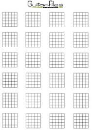 Guitar Chord Names And Symbols Blank Chord Learn Guitar In 2019