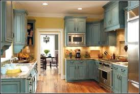 homemade chalk paint kitchen cabinets