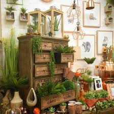 orange and copper shop display home decor interiors creative