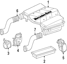 parts com® mercedes benz ml350 engine appearance cover oem parts diagrams 2007 mercedes benz ml350 4matic v6 3 5 liter gas engine appearance cover