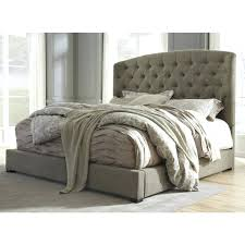 upholstered queen bedroom sets furniture bed in graphite local tufted headboard set
