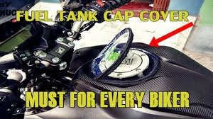 Fuel <b>Cap cover</b>|Rain <b>cover</b> for <b>fuel tank cap</b>| Important for every biker ...