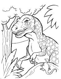 Big Coloring Pages Of Dinosaurs Murderthestout