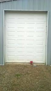image is loading 8x10 steel garage door insulated with all installation