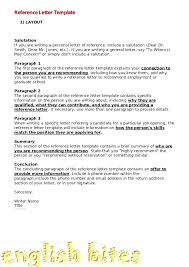 Employment Letters Of Recommendation Employee Letter Sample Doc ...