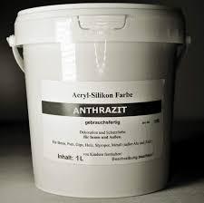 Anthrazit Beton Farbe Acryl Silikon 1 Liter Amazonde Baumarkt