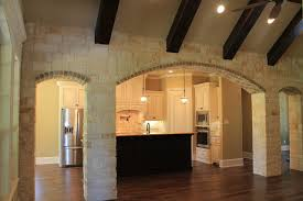 Stone Archway into Kitchen traditional-kitchen