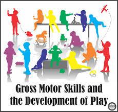 gross motor skills and development of play
