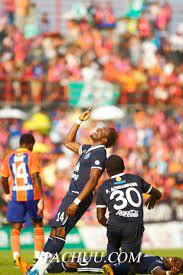 ถ่ายภาพ ฟุตบอล ไทยแลนด์พรีเมียร์ลีก บุรีรัมย์ พีอีเอ vs การท่าเรือไทย เอฟซี  by ช่างภาพ ป้าชู | ช่างภาพ ป้าชู Pachuu.com