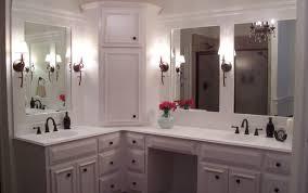 ideas cabinet bathroom solutions countertop mirror storage top vanity makeup tower astonishing bathrooms stunning