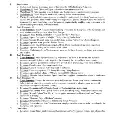 example of an outline of an essay cover letter example of an outline of an examples of essay outlines format