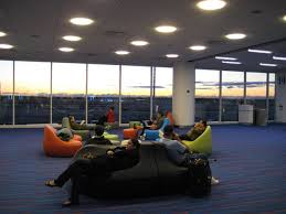 cool lounge furniture. Cool Lounge Furniture A Virtual Tour Of JetBlue\u0027s Terminal From The Future