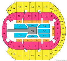 Mississippi Coast Coliseum Seating Chart