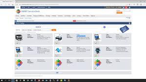 service catalog as per smart service desk