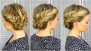 French Braid Updo Hairstyles Fishtail French Braid Updo And Fishtail Bun Updo Beautiful Diy