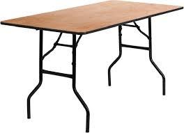 6ft trestle table sizes
