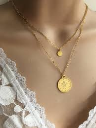 gold coin necklace set ottoman coin