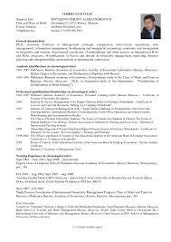 Resume For Graduate Schooln Best Sample Tjfs Journal Org