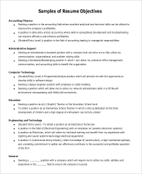Good Objective Statements For Entry Level Resume 9 Resume Objective Statement Samples Examples Templates