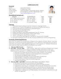 Curriculum Vitae Curriculum Vitae Format In Nepal