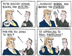 Image result for And the winner is Donald Trump cartoon