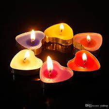 Großhandel Neue 50 Teile Satz Herzförmige Ghee Kerze Butter Kerzen Teelicht Kerzen Nichtraucher Wachs Dekoration Weihnachtsgeschenk Von Linkstore