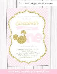 baby mickey mouse invitations birthday minnie mouse 1st birthday invitations articleblog info