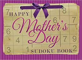 Print A Mother S Day Card Online Happy Mothers Day Sudoku Book Large Print Puzzles Gift For Mom