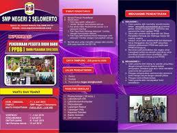 Brosur Ppdb Online Smp N 2 Selomerto Tahun Pelajaran 2019 2020 Smp 2 Selomerto