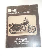 gt spirit in manuals literature kawasaki kz1000 b2 service shop repair manual supplement