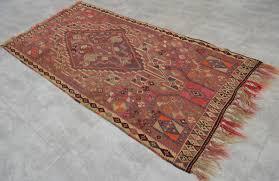 kurdish hand woven kilim rug 47 x 95 antique turkish wool kilim rare 1 of 8only 1 available kurdish hand woven kilim rug