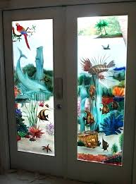 painted glass doors carved painted door 3 can i paint glass wardrobe doors