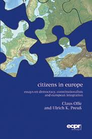book review citizens in europe essays on democracy  citizens in europe cover
