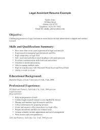 Resume Legal Secretary Resume Legal Secretary Administrative Resume ...