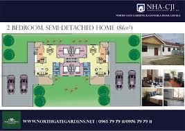 Captivating ... North Gate Gardens: 2 Bedroom Semi Detached Colour View (86 Sqm) ...