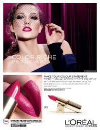 karlie kloss turns up the glam in l oreal paris color riche ad