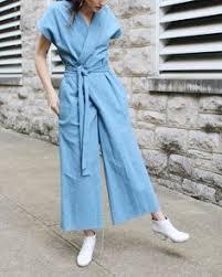 <b>PADEGAO</b> White Ankle-Length Pants Empire Waist Asymmetrical ...