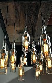 liquor bottle chandelier whiskey