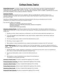 Unique College Essay Ideas Cool College Essay Prompts