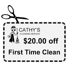 coupon for cathy s cleaning service