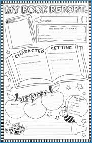 3rd grade book report template free pretty fancy collection second grade book report form