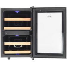 Купить <b>Винный шкаф COLD VINE</b> C12-TBF2 черный по супер ...