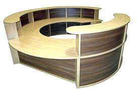 circular office desks. Decoration: Rounded Office Desk House Curved Round Corner Intended For 18 From Circular Desks C