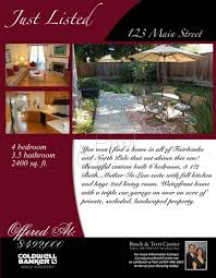 Real Estate Marketing Flyers Mozo Carpentersdaughter Co