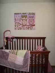 owl decorations for girl nursery themes panda crib set