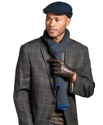 men s italian lambskin cashmere lined winter leather gloves